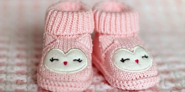 Crochet Baby Booties For Baby Shower Gift On A Budget