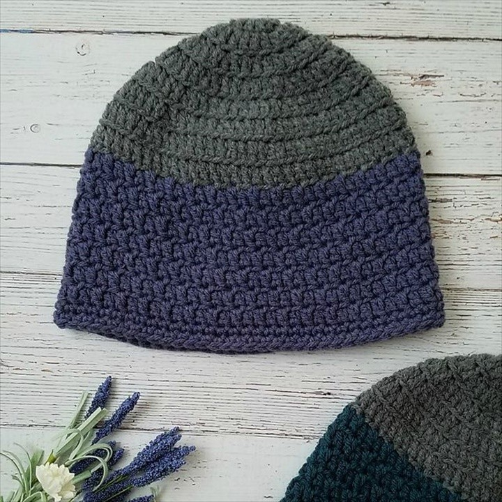 Crochet Beanie Free Pattern Simple and Easy Idea
