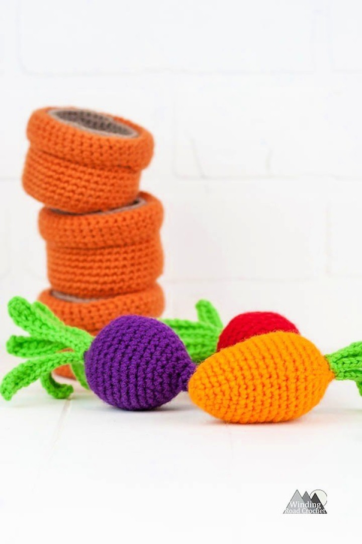 How to Crochet a Baby Toy Garden