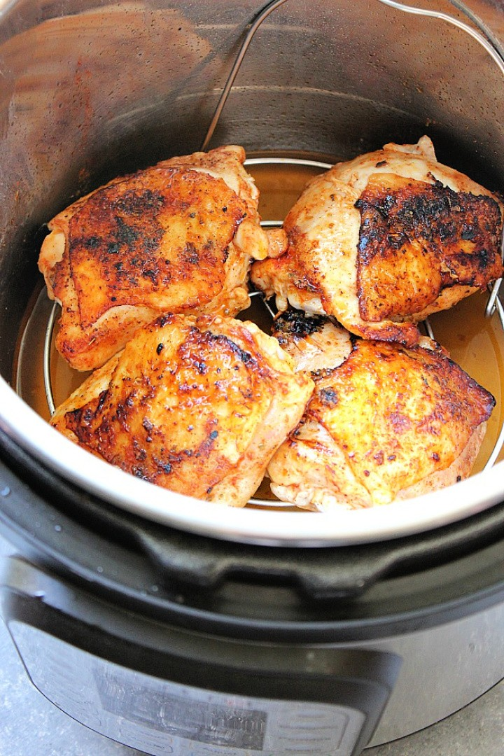 Instant Pot Chicken Thighs Recipe