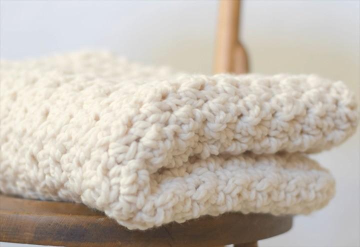 Knit Crochet Blanket Sizing Guide