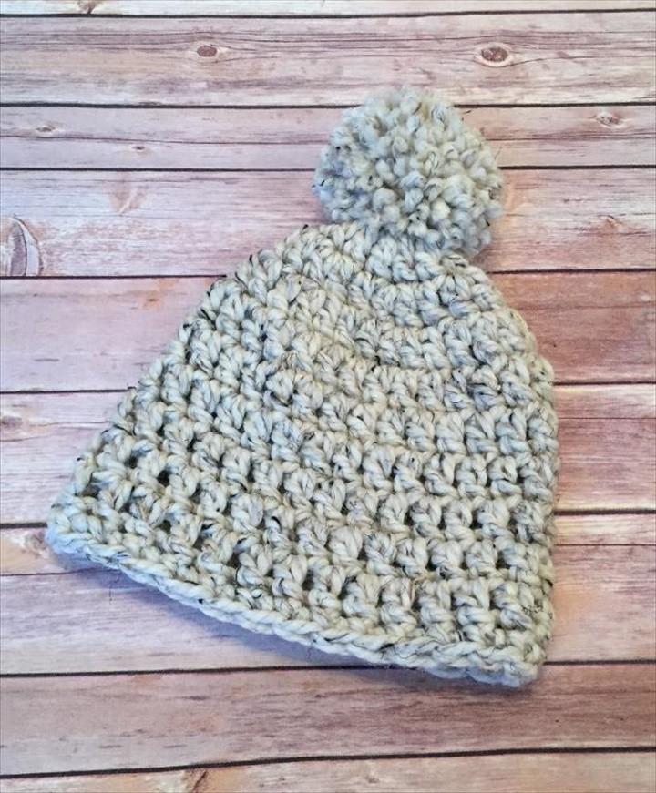 Lakeside Chunky Beanie FREE Crochet Pattern