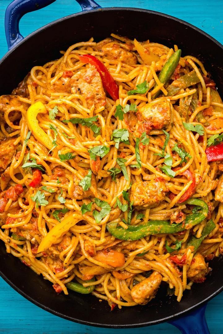 Mexican Chicken Pasta Recipe for Dinner