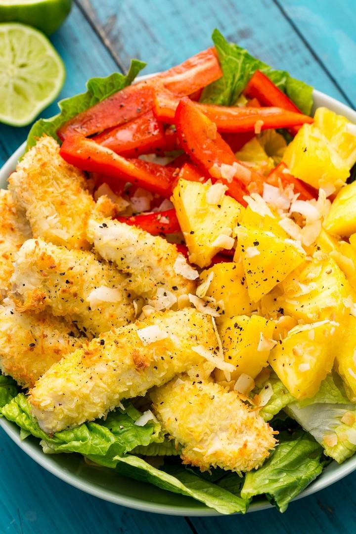 Piña Colada Chicken Salad