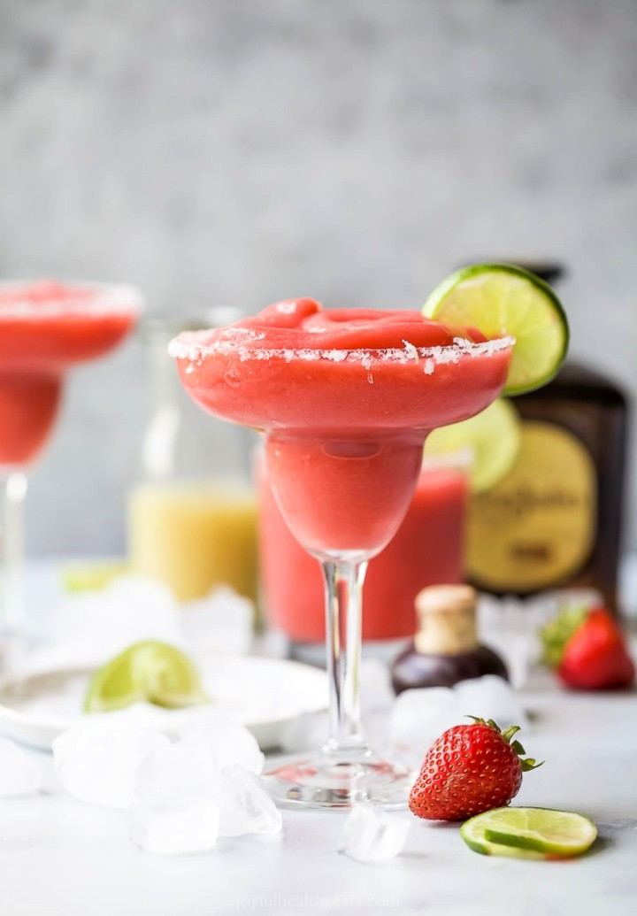 Ultimate Blender Frozen Strawberry Margaritas