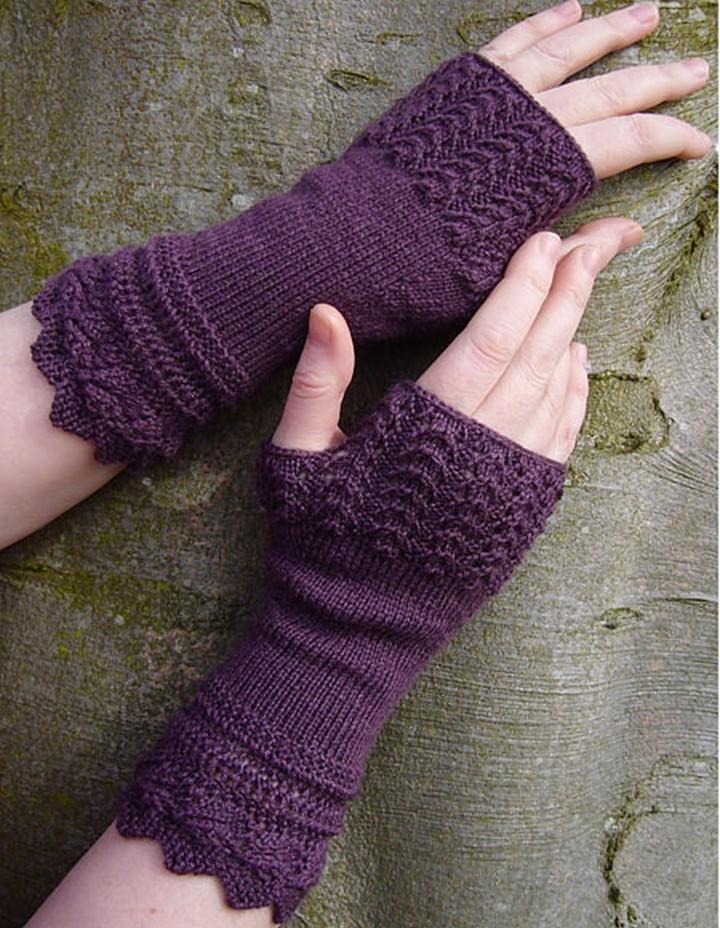 25 Crochet Gloves Pattern Fingerless