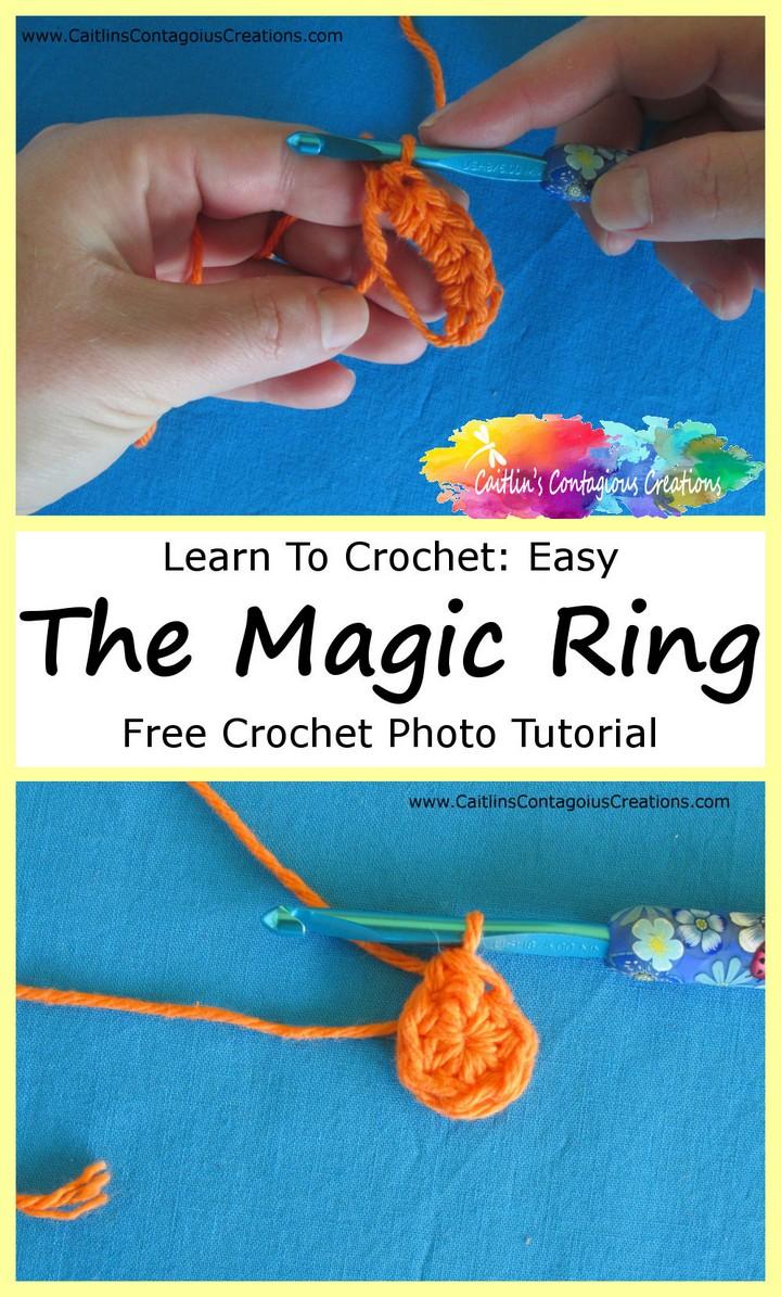 Amazing Magic Ring Crochet Tutorial
