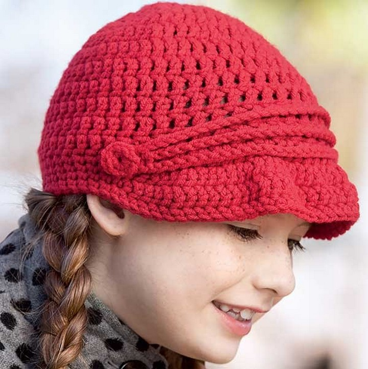 Beautiful Decent Handmade Crochet Hat In One Hour