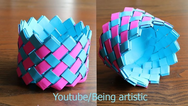 Beautiful Easy Way To Make Paper Basket