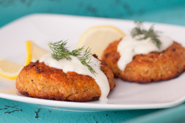 Crab Cakes from Maryland Governors Kitchen