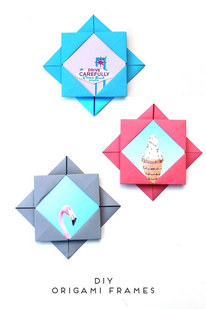 Creatives DIY Easy Origami Frames
