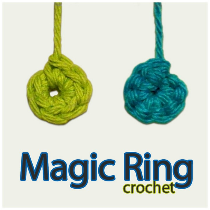 Crochet Magic Ring Adjustable Ring for Amigurumi
