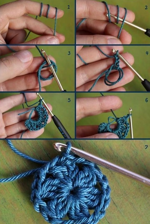 Crochet Patterns Slippers Magic Ring Crochet Patterns Slippers