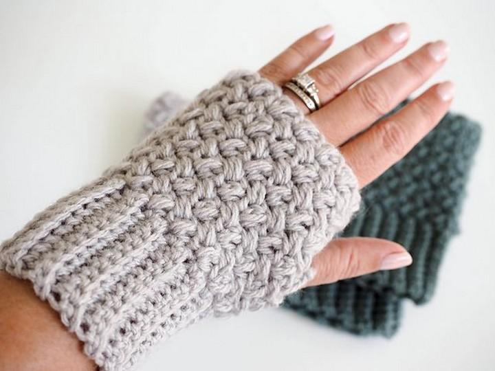 Cute Crochet Fingerless Gloves