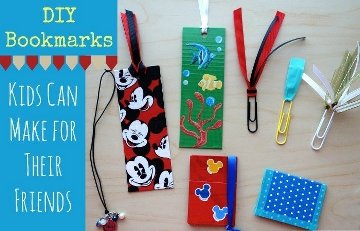 DIY Colorful Homemade Bookmark Ideas For Students