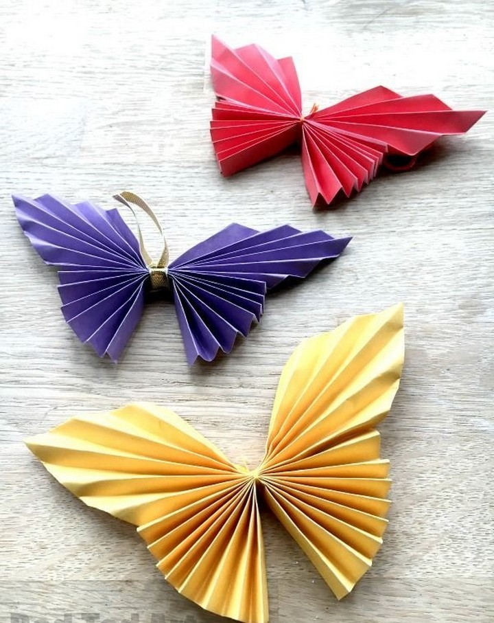 DIY Easy Paper Butterfly Origam Tutorial