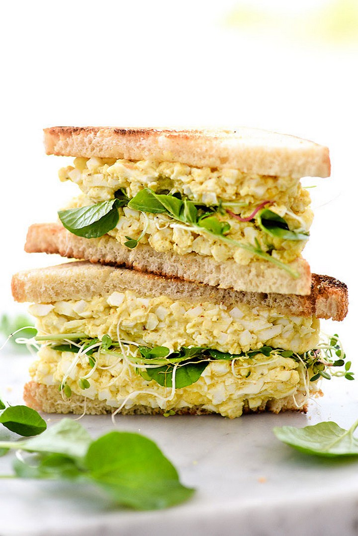 DIY Egg Salad Sandwich Recipie