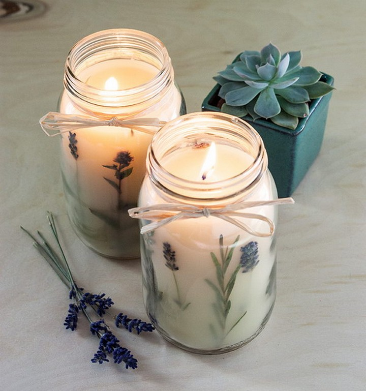DIY Fantastic Botanical Infused Homemade Candle Recipes