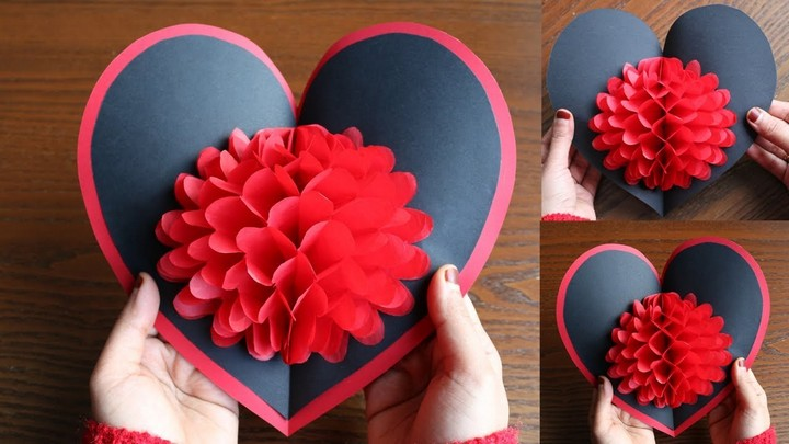 DIY Flower Pop up Card