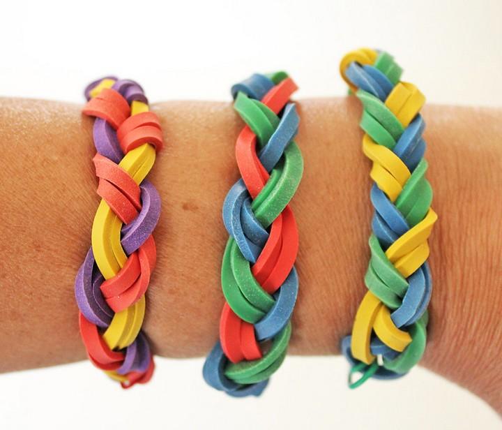 DIY Handmade Rubber Bracelet