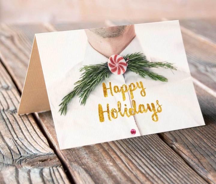 DIY Holiday Cards in Bulk