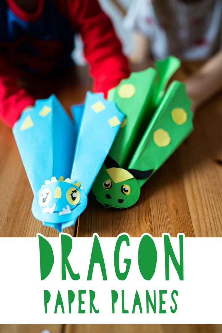 DIY How To Train Your Dragon Paper Planes