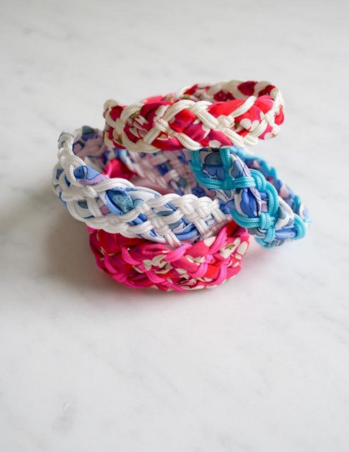 DIY Liberty Braided Friendship Bracelets