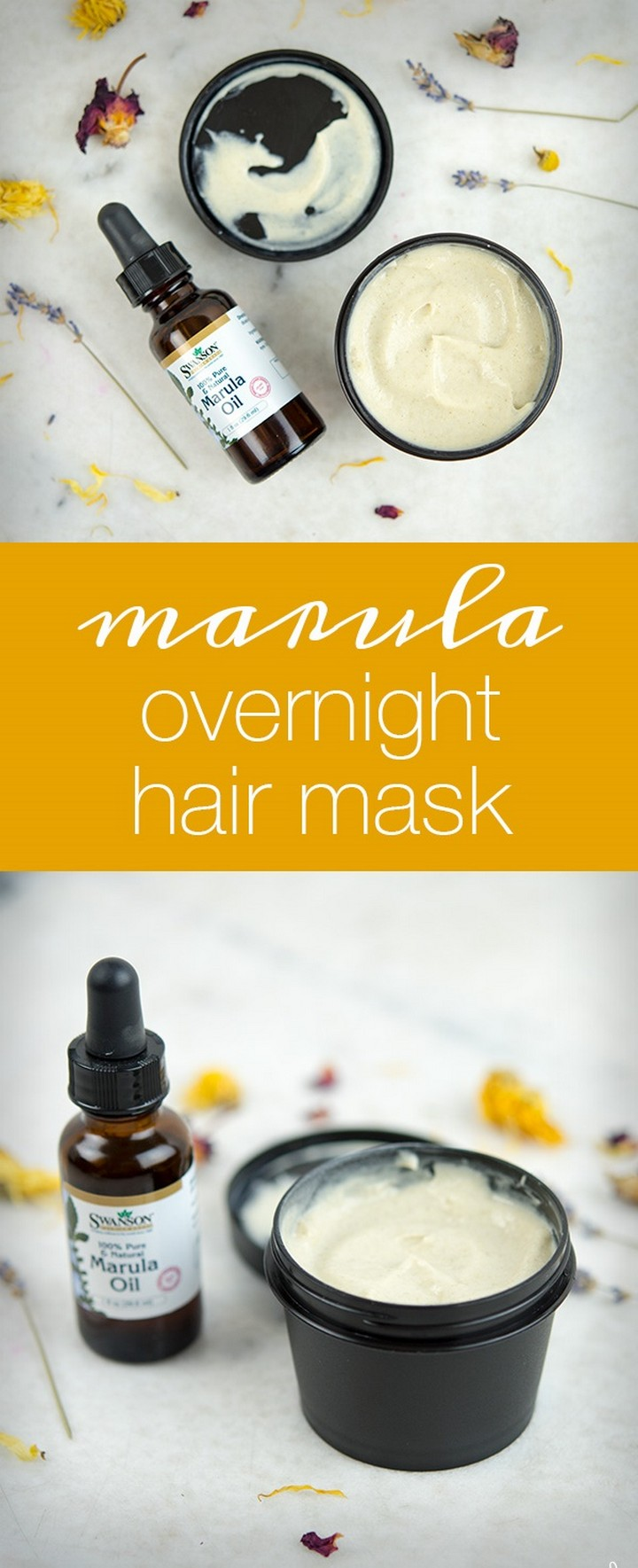 DIY Marula Overnight Hair Mask