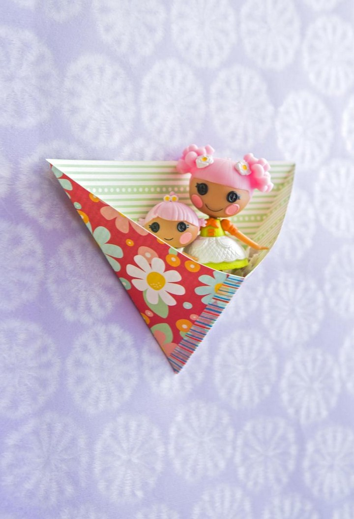 DIY Pockets Paper Craft Idea
