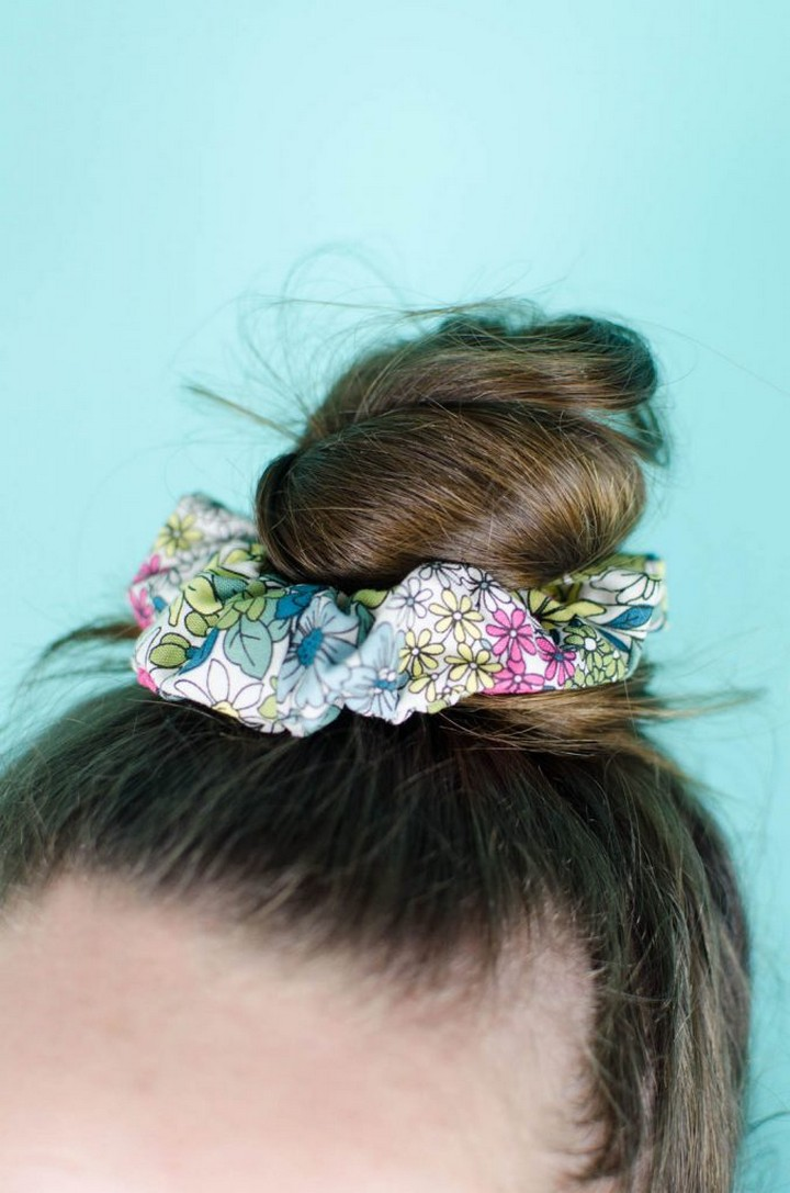 DIY Scrunchies For Hair Accessories