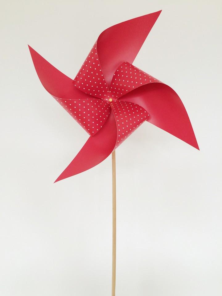 DIY SimpleTo Make Summer Ppaer Windmill