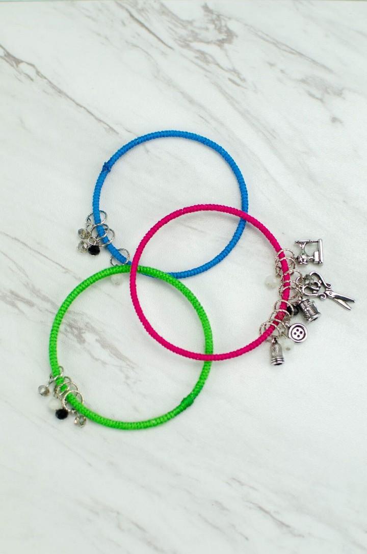 DIY Wrapped Bracelets Tutorials