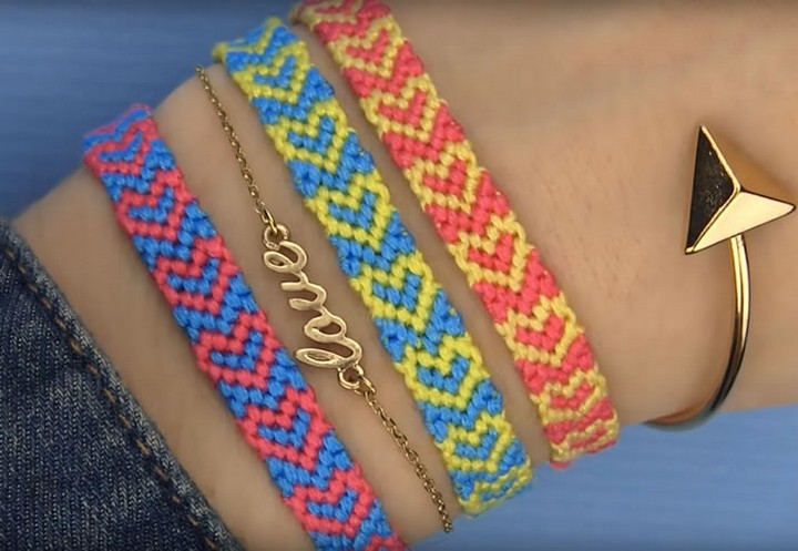 10 DIY Friendship Bracelets Patterns