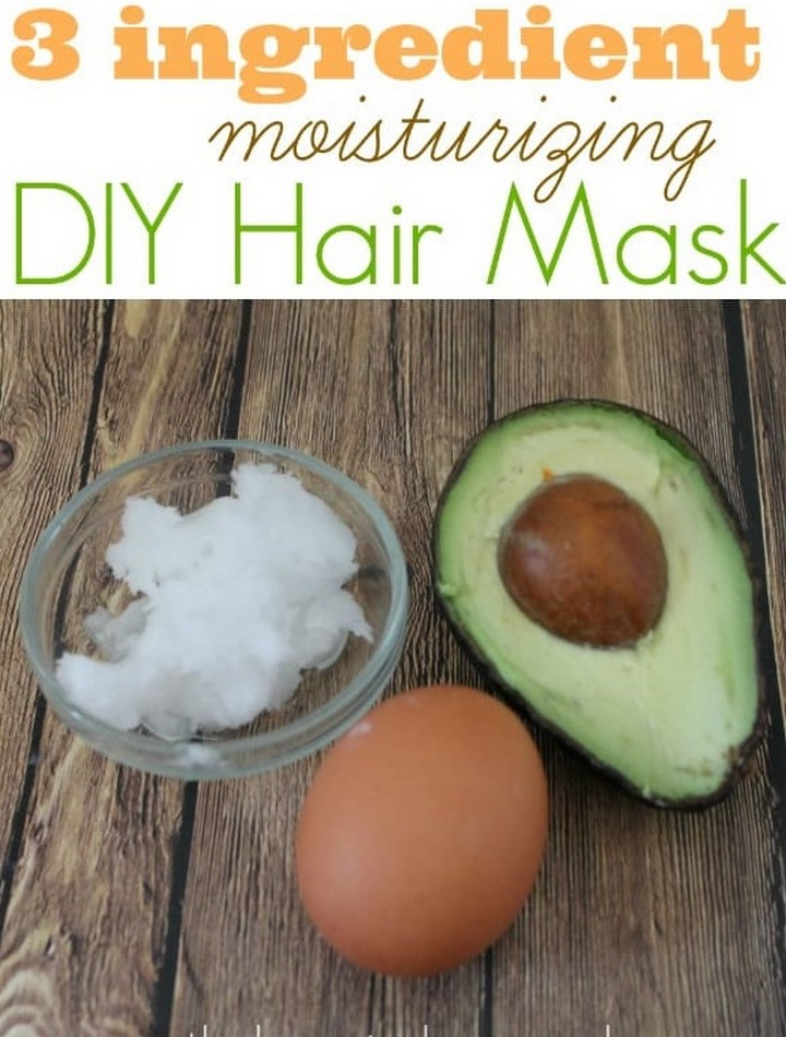 Easy DIY Moisturizing Hair Mask