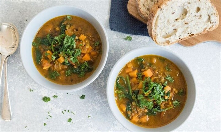 Easy To Make Lentil and Vegetable Soup
