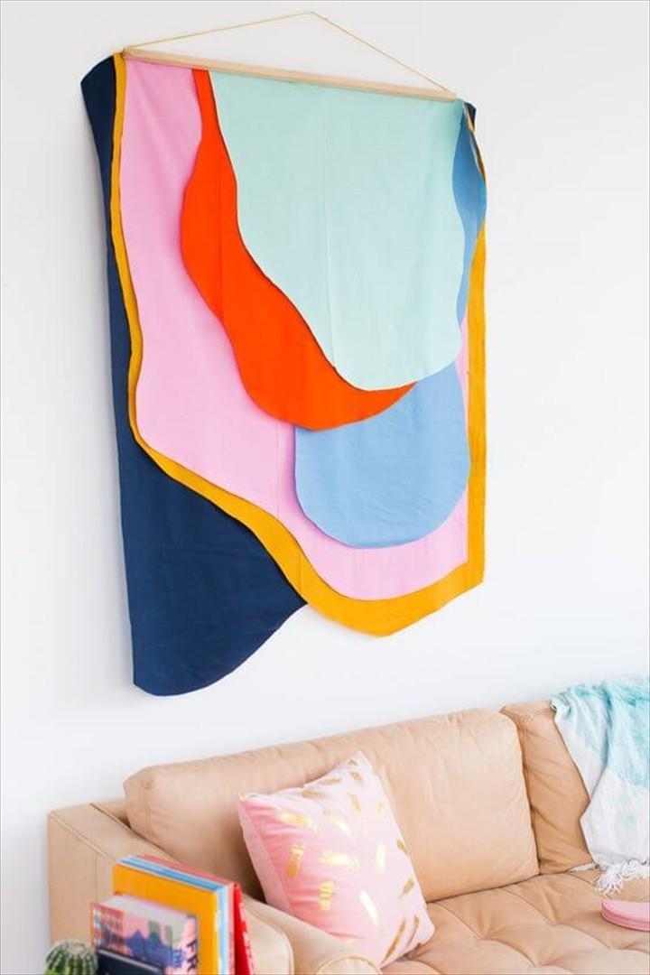 Fabric Decor For DIY Home Decor Idea