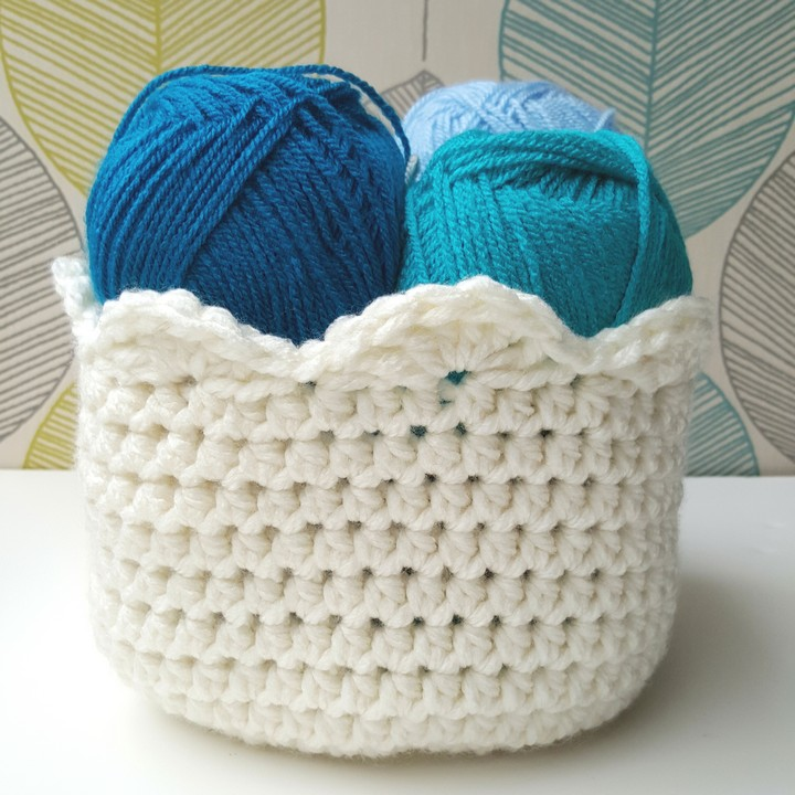 Free Crochet Basket Patterns to Organize Your Whole Home