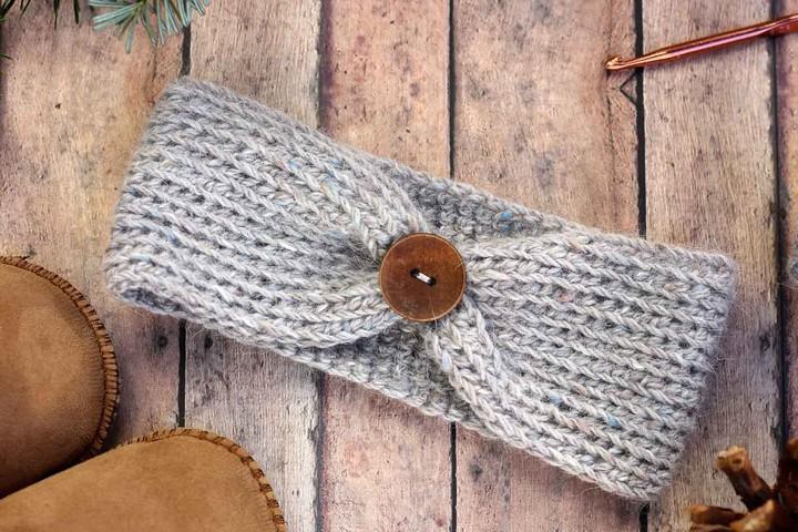 Free Crochet Headband Pattern Baby Adults