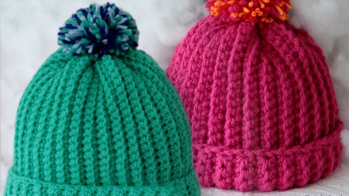 Free Crochet Pattern Stretchy Hat