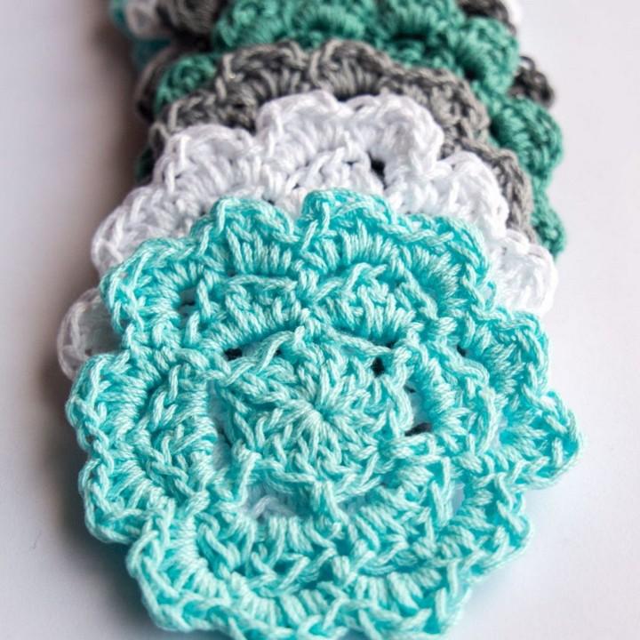 Free Easy Crochet Coaster Pattern for Beginners