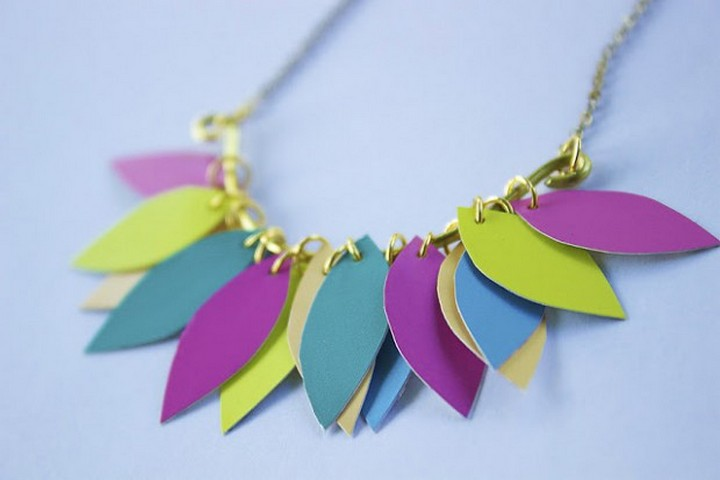Gorgeous Colorful DIY Statement Necklace Ideas