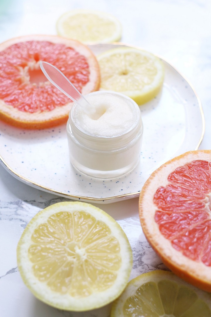 Grapefruit Peppermint Perfect Homemade Lip Balm