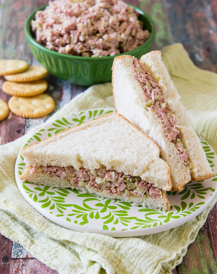 Ham Tuna Salad Sandwiches Recipie