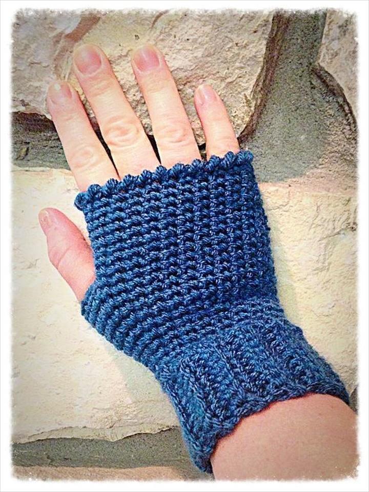 Hi Five Fingerless Gloves