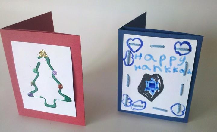 Homemade Holiday Christmas Gift Card Holder