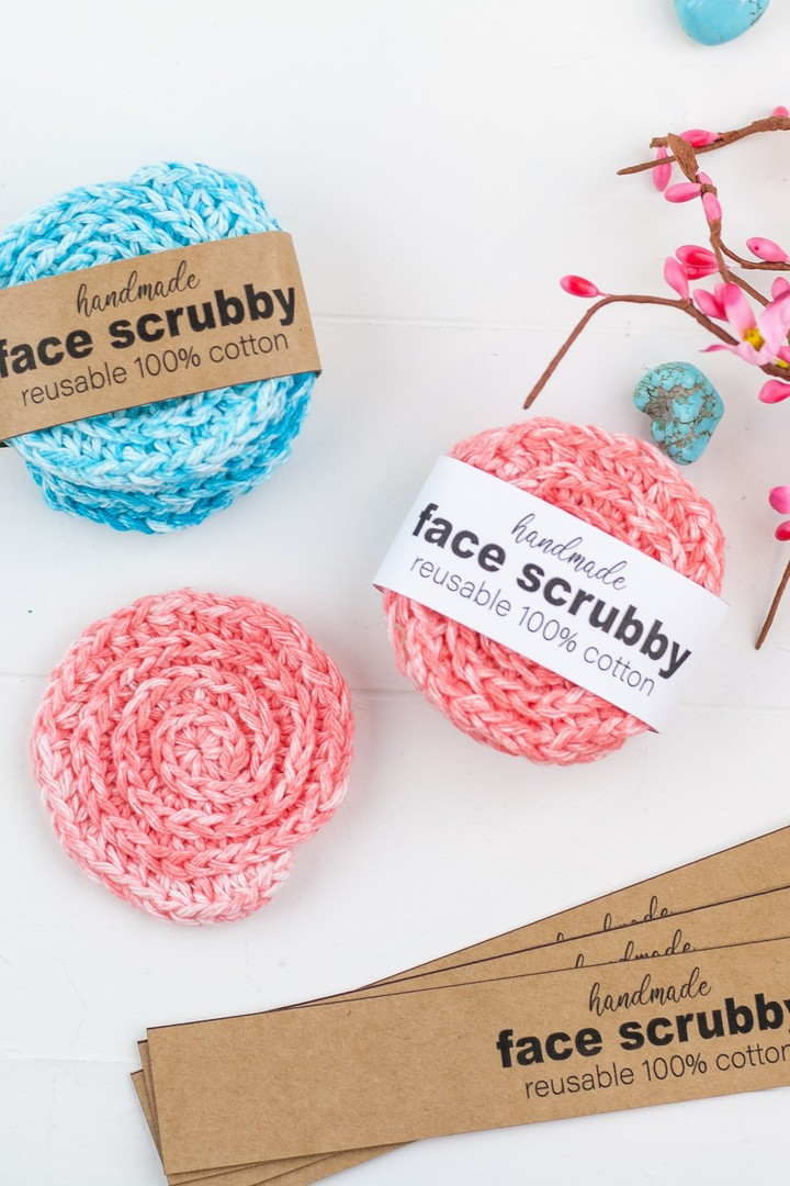 How To Crochet Face Scrubbies