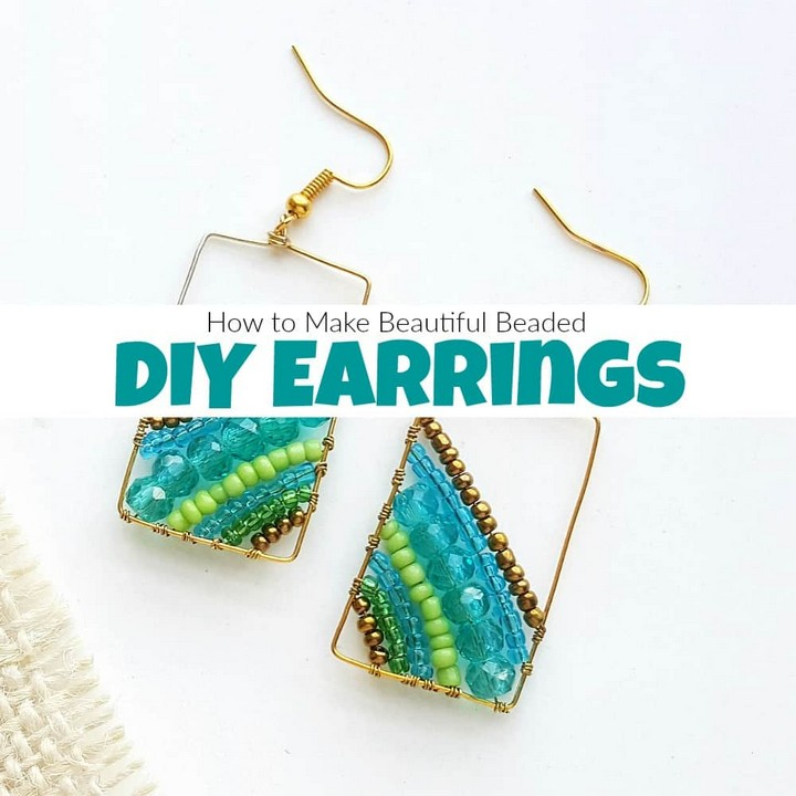 How To Make Beads And Pearls Earrings Design