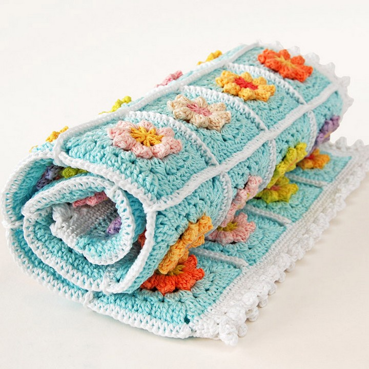 How To Make Crochet Baby Blankets