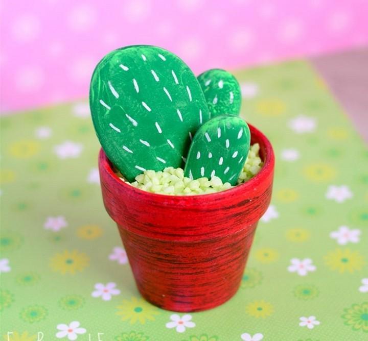 How To Make DIY Rock Cactus Craft