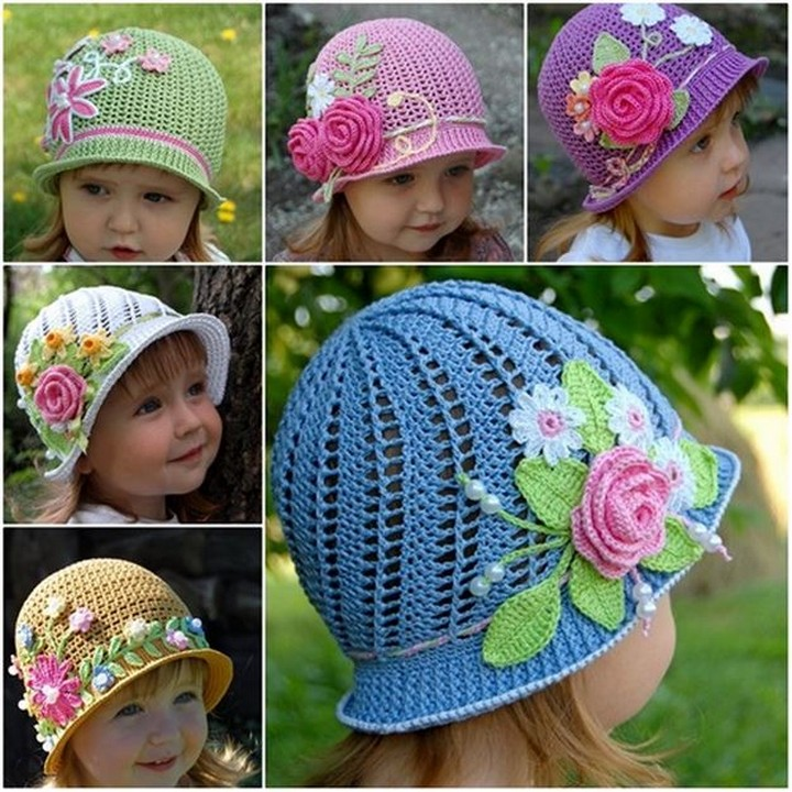 How To Make Diy Preety Beautiful Panama Hats For Baby Girls